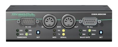 DirectOut Technologies EXBOX.MIDICOM