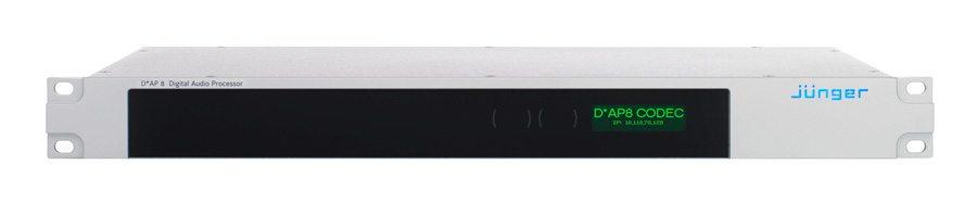Jünger Audio D*AP8 CODEC EDITION Audio Processor