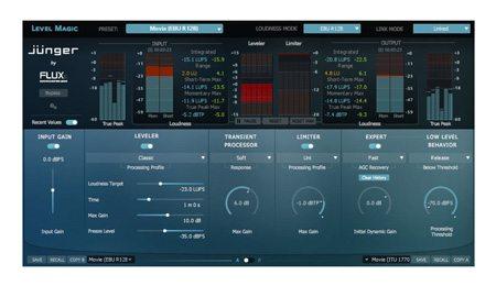 Jünger Audio Level Magic™ Plug-In