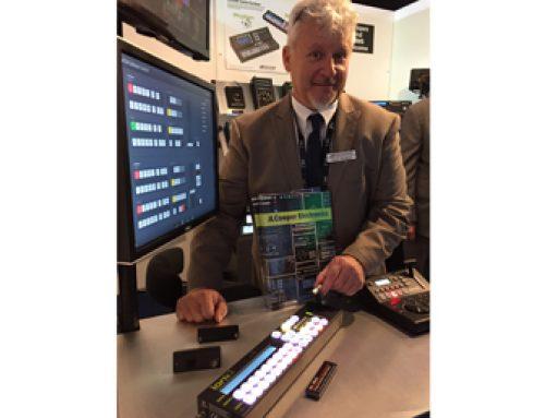 JLCooper Takes Control at IBC