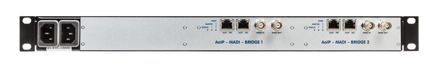 Jünger Audio Netbridge MADI Rear
